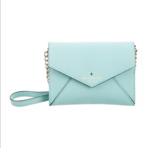 Kate Spade ♠️Tiffany Blue Envelope Crossbody